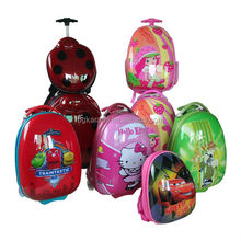 2014 good new PC ABS Children Travel Luggage Trolley Bags