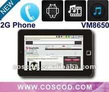 2g sim tablet pc with sim slot,HDMI Calls 2012 Cheapest MID