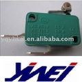 green colour copper contact or silver contacts micro switch(YW3-306-a16A125V/250V AC)