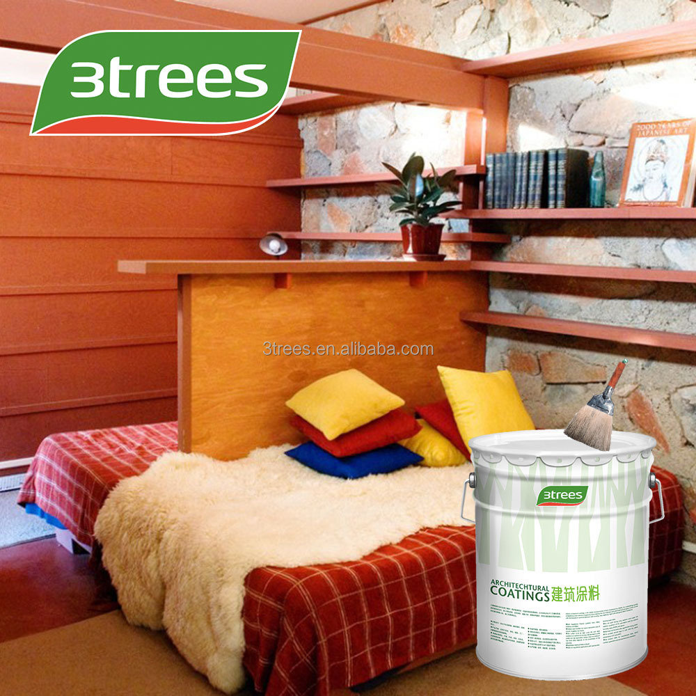 3TREES Easy application and repair Nitrocellulose Varnish for wood