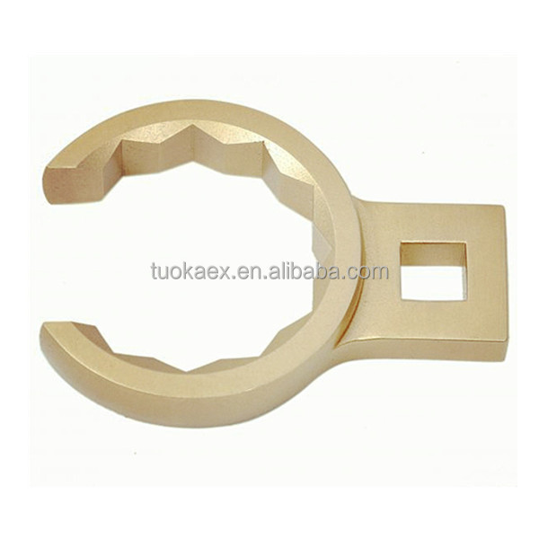 safety tool aluminum bronze alloy crow foot wrench