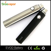 EVOD Battery 100% Authetic for Electronic Cigarette 3 Color Changing 650 900 1000mah fit all series eGo tanks CE4 CE5 MT3