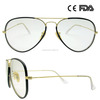 Retro Aviator Optical Frame Acetate Handmade