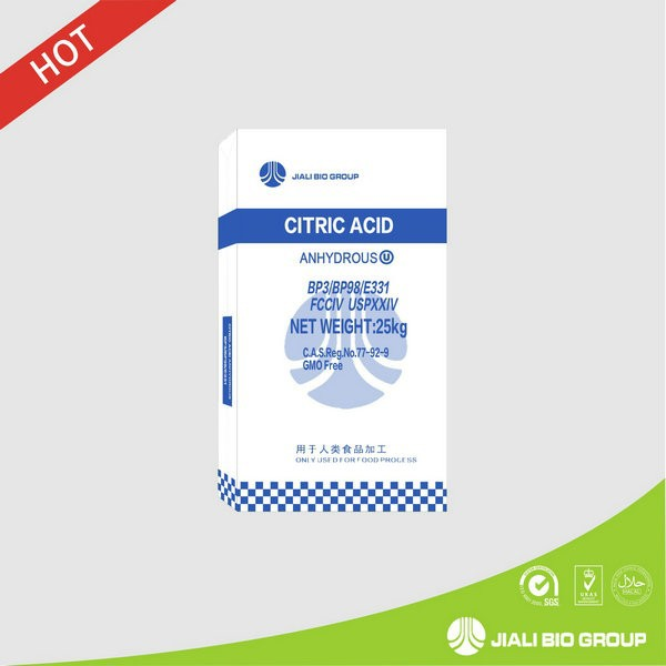 Citric Acid Anhydrous Food Grade