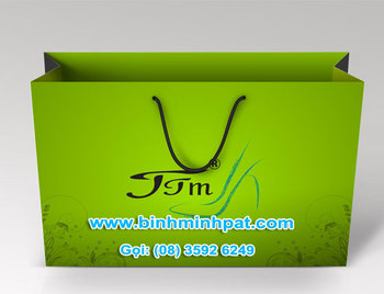 Promotional Custom Paper Bag For Festival 2014