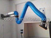 Loobo cost effective flexible exhaust suction arm for fume extraction system