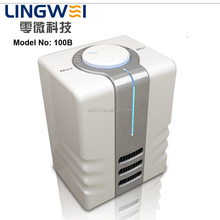 Mfresh 100B Small Mini Negative ions smoke air purifier ionizer Adjustable