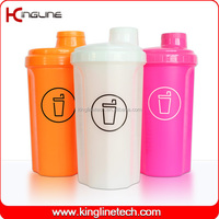 No leaking 700ml industrial sieve shaker bottle with ball machine with lid (KL-7028)