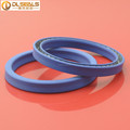 U type Spring forced PTFE seals used for hydraulic actuators in the range of 10bar with different solvents.