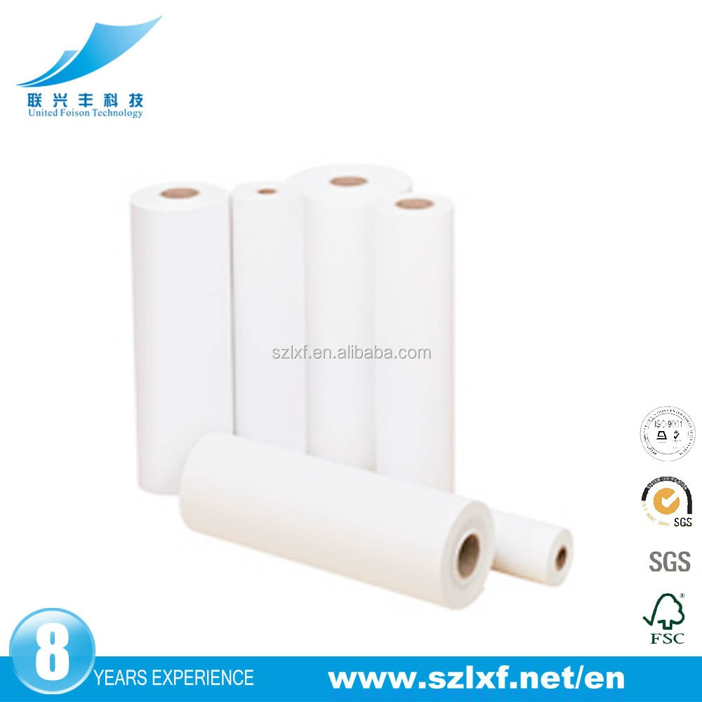 Smooth Surface Thermal Fax Paper Rolls