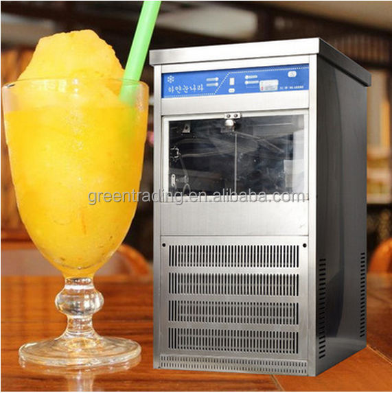 Industrial snow flake ice machine / korea milk ice machine / flake ice maker