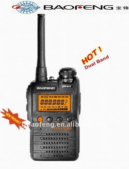 BAOFENG mobile two way radio UV-100 with dual band