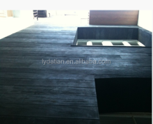 charred millboard for outdoor using