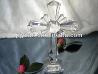 elegant blank clear promotional gifts religious crystal cross
