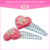 Fashion resin glitter beautiful various shape magnetic handmade italian baby hair accessories