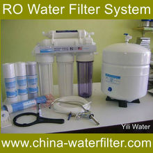 5 stage reverse osmosis water filter system Wall mounted RO membrane water ro system