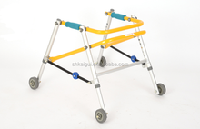 aluminum children rollator walker for learning walking