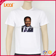 one size fits all white t-shirt for campaign