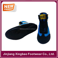 Made SINDO Boxing Shoes Professional Boxer Boots Lace Up High Top Quick PRO BXR Adults Mens & Kids Boxing Boots Shoes For Korea