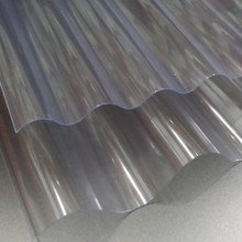 construction building materials Corrugated Polycarbonate Sheet/PC transparent roofing sheet