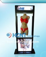New Invention ! magnetic levitation led display rack for underwear, mens bra and panties
