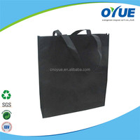 Eco reusable colorful foldable non woven tote shopper bag