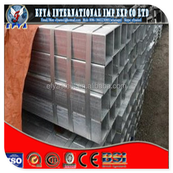 Pre Galvanized Welded Square / Rectangular Steel Pipe/Tube