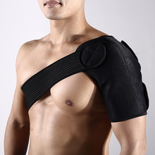 Free adjustable elastic breathable man shoulder baddage strap pads support