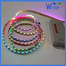 Hot Sale and high quality Ws2812 ws2811 Side View Digital led strip 60 SMD/M IP20 From Ledworker