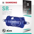 SR Hermetic Liquid Line Refrigerant Filter Drier, DMC Receiver Filter Drier