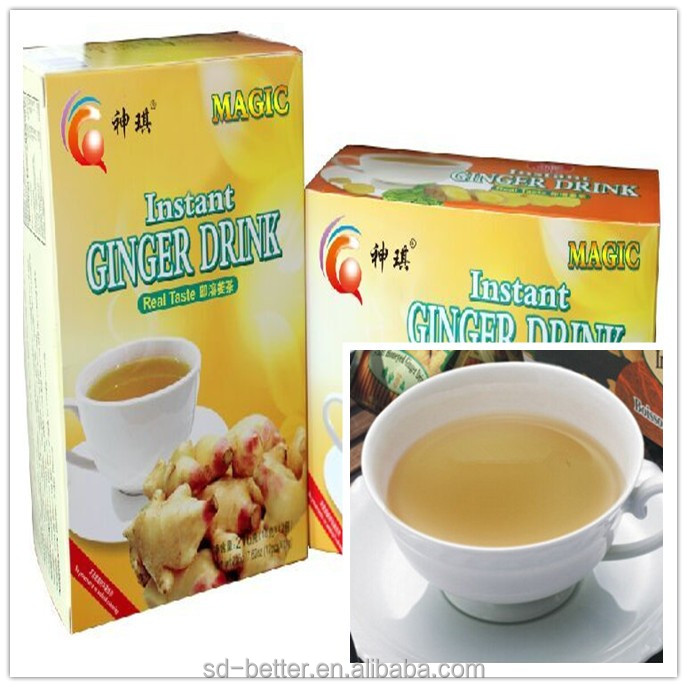 Natural health herbal tea/Instant granulated honey ginger tea