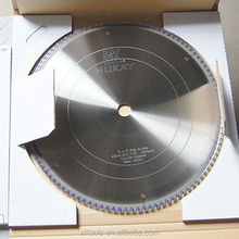 Saw blade for cutting veneer and maline board for cabinet