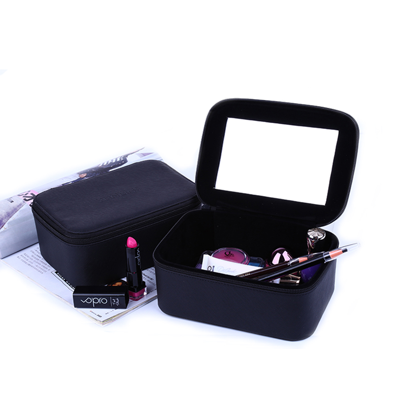 2017 Luxury Cosmetic Bag Professional Make Up Bags Travel Makeup Case Beauty Necessaries Toiletry Bag Women Travel Organizer Box