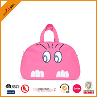 Wholesale candy colors cute lugage bags handbag fashionable girls travel bag