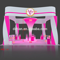 Different 20x20 Exhibition Stand Booth Design from Shanghai China