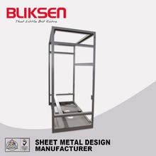New Condition bending and welding laser cut metal screens frame