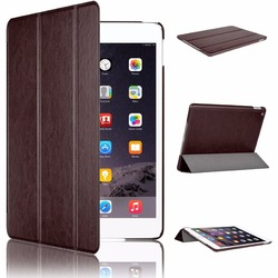 Smart Magnetic Leather Case Shockproof TPU Back Cover iPad Case