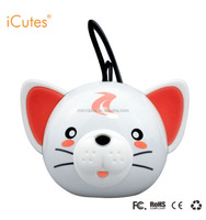 Cat Mini Portable Speaker of Christmas Gift, Christmas Tree Decoration M317