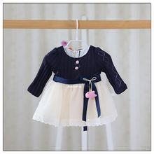 Latest Children Dress Designs Casual Girl Clothes Girl Dress Child Wear