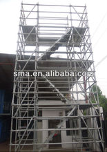 Galvanized Quick assembling Wedge Lock Scaffolding System