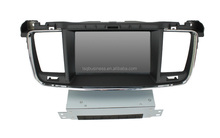 Two din autoradio dvd for Peugeot 508 car dvd player/ navigation/ multimedia
