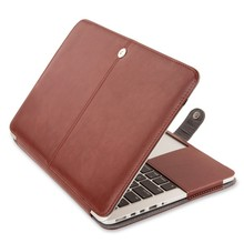 "Leather Laptop Sleeve Case Cover For Macbook Pro Retina 13/15"", 15 leather case for macbook pro retina Manufacture"