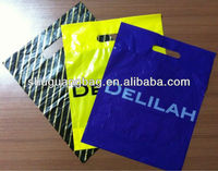 Printed plastic handle bag chain for bag handle