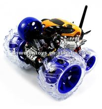 Hot!!!Electric 360 Degree Bugatti Veyron Cyclone Stunt Wheel RTR RC Monster Truck