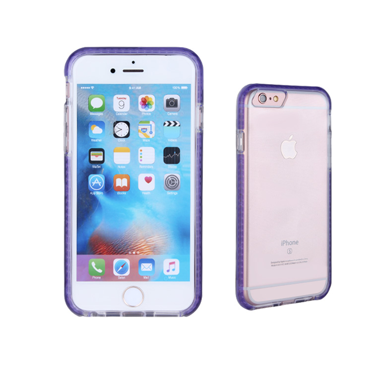 The Latest Sublimation Phone Cover Case with LED Flash Light for iphone6
