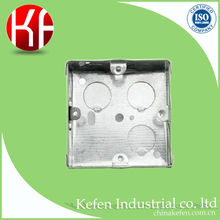 72*72*47 1 gang underground electrical main junction sheet metal switch box with galvanized