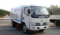 Dongfeng 4x2 Small Street Sweeping Truck For Sale /Small Sweeper Truck