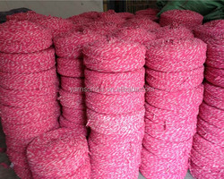 china 0.5s/4 ply blended cotton yarn for mops/mop yarn