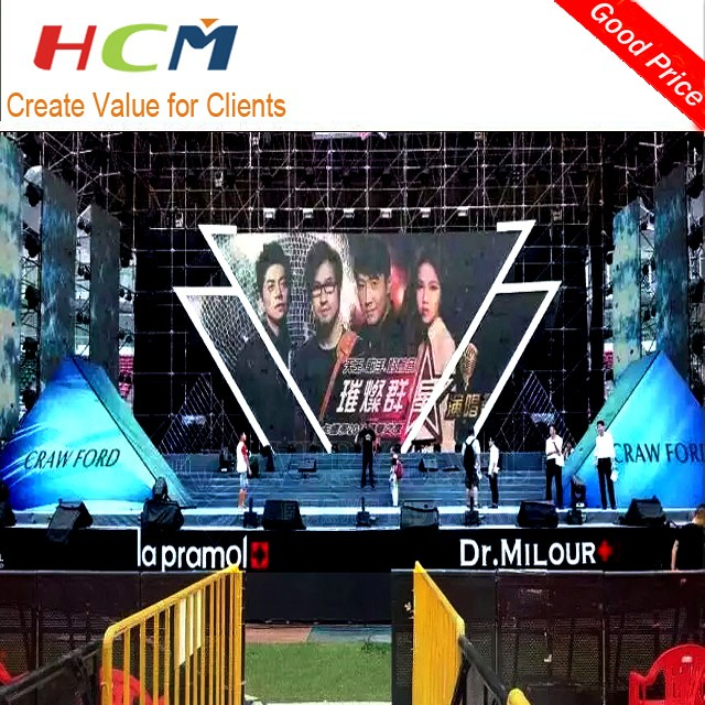Outdoor Colorful Digital LED Advertising Billboard, good price outdoor large led display screen