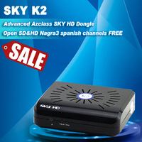 free IKS Dongle AZCLASS SKY HD K2 similar to update ibox dongle need match with a siginal tuner satellite receiver